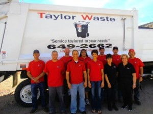 Taylor Waste Garbage Collection Team